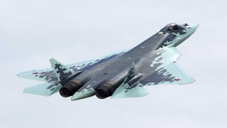 Первый серийный СУ-57