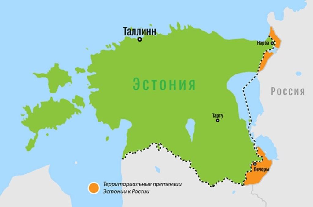 На что надеются эстонские политики, выдвигая территориальные претензии к России