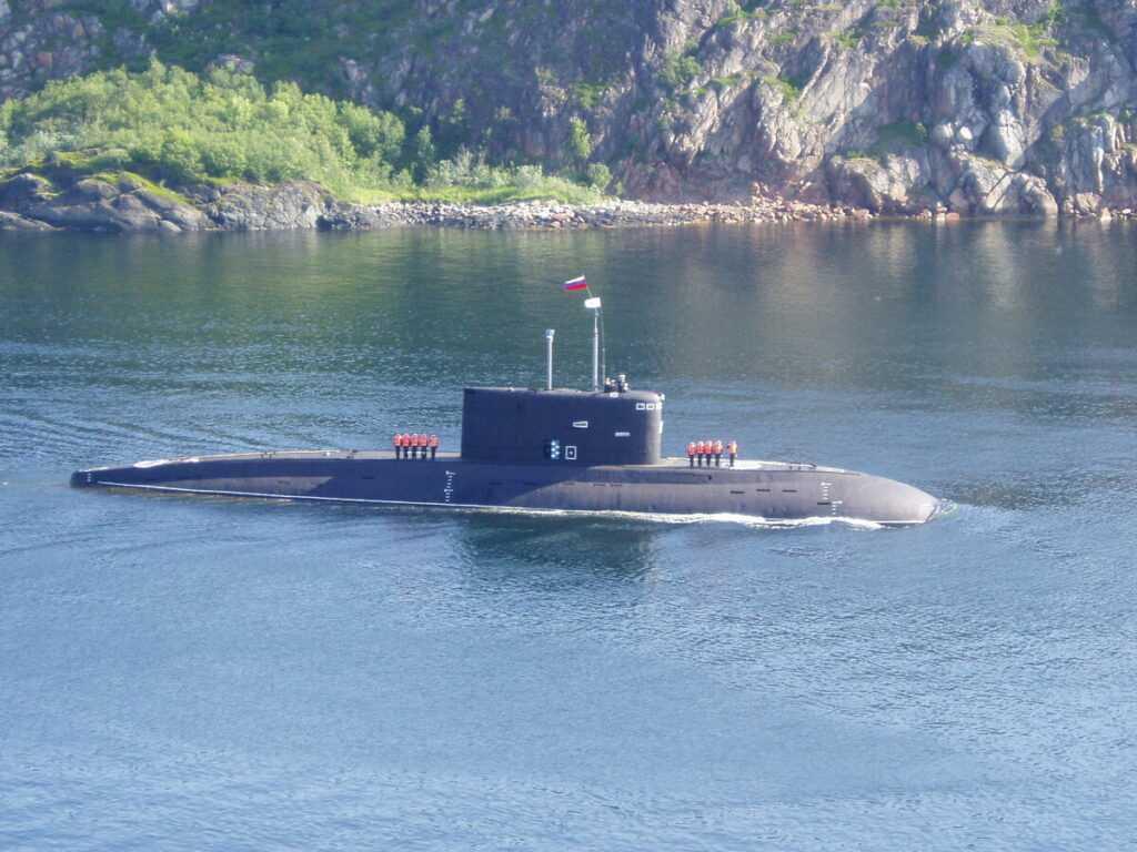 Новая подводная лодка проекта «Сервал»