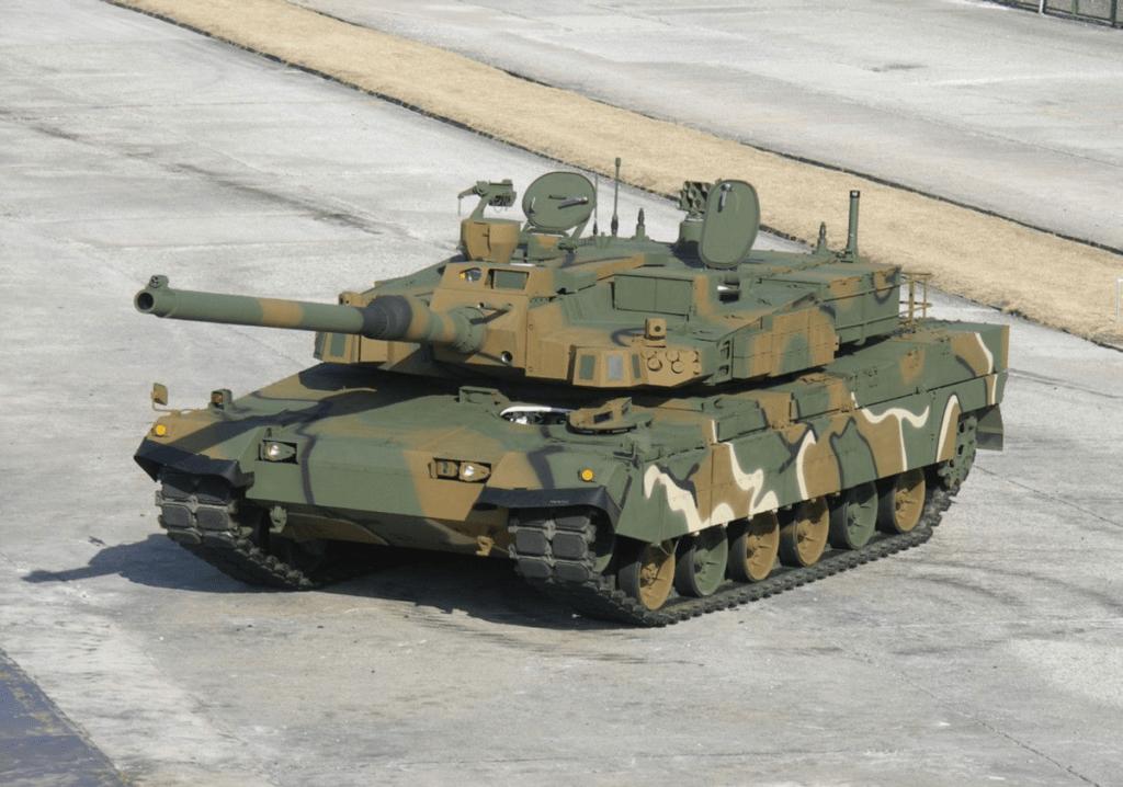"""Южнокорейский танк К2 - """"Черная пантера"""""""