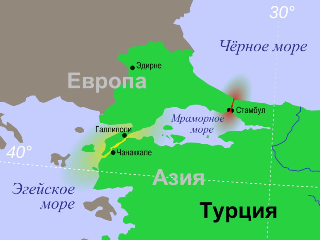 У России есть альтернатива турецким проливам