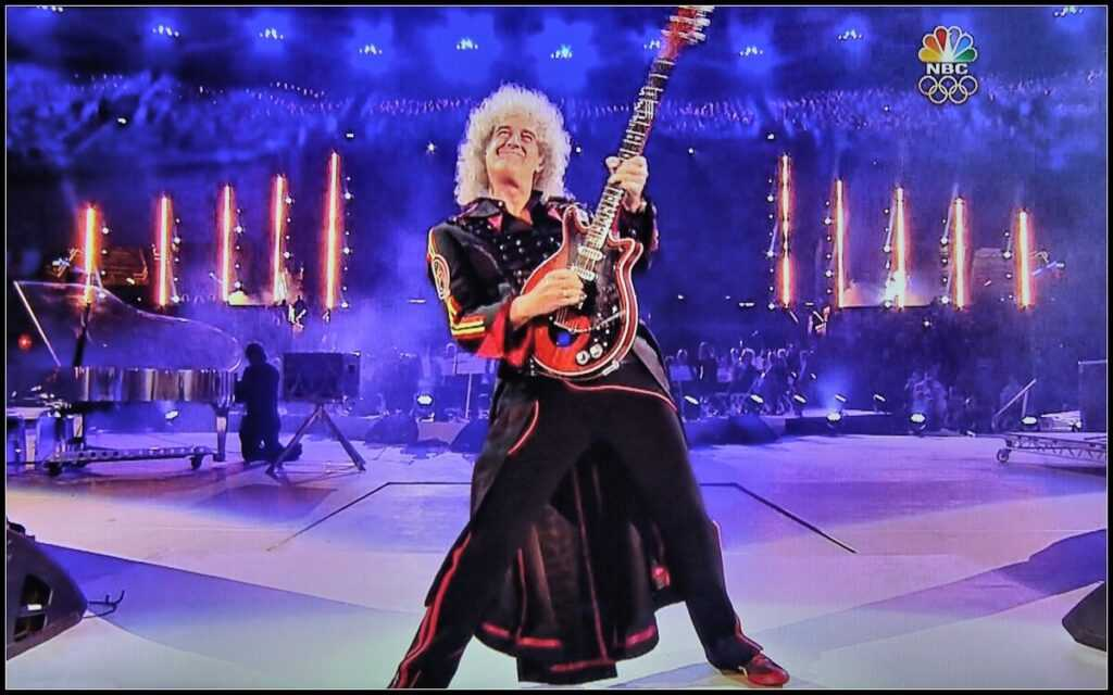 Гитарист Queen Brian May и I'm a Woman