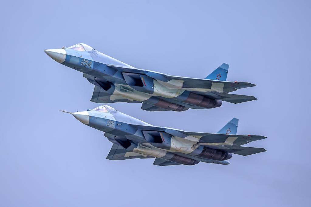 СУ-57 улетает в Алжир