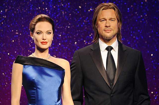 Брэд Питт и Анджелина Джоли,