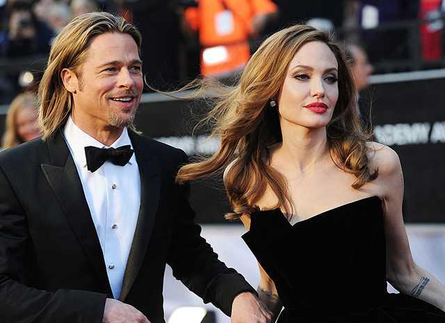 Брэд Питт и Анджелина Джоли борются за право опеки над детьми