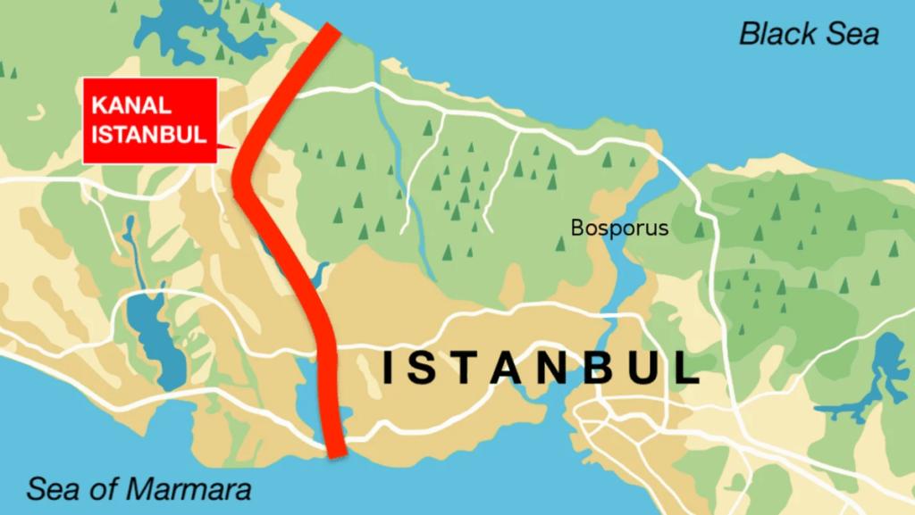 """Канал """"Стамбул"""" может стать причиной союза Украины и России"""