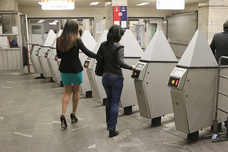 общественный транспорт Face Pay